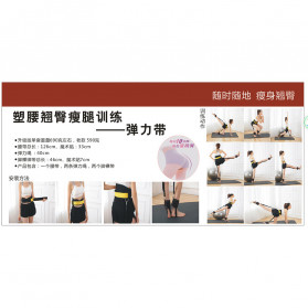 ITSTYLE Tali Stretching Yoga Fitness Power Resistance - SG005 - Black - 8