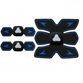 HUIFAN Alat Stimulator Otot Six Pack EMS Trainer ABS Abdominal Muscle - HF-110 - Black