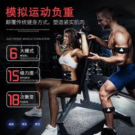 HUIFAN Alat Stimulator Otot Six Pack EMS Trainer ABS Abdominal Muscle - HF-110 - Black - 3