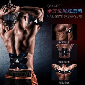 HUIFAN Alat Stimulator Otot Six Pack EMS Trainer ABS Abdominal Muscle - HF-110 - Black - 4