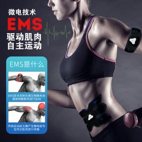 HUIFAN Alat Stimulator Otot Six Pack EMS Trainer ABS Abdominal Muscle - HF-110 - Black - 5