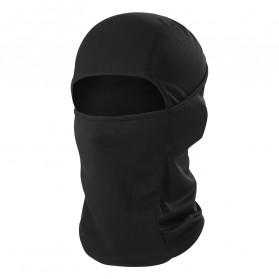 CISE Masker Motor Balaclava Full Face Polyester Fabric Windproof Anti UV - MJ-022A - Black - 2