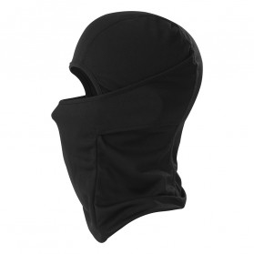 CISE Masker Motor Balaclava Full Face Polyester Fabric Windproof Anti UV - MJ-022A - Black - 3