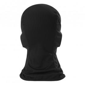 CISE Masker Motor Balaclava Full Face Polyester Fabric Windproof Anti UV - MJ-022A - Black - 4