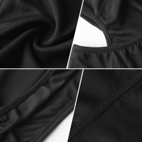 CISE Masker Motor Balaclava Full Face Polyester Fabric Windproof Anti UV - MJ-022A - Black - 5