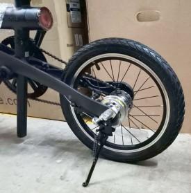 Soldier Standar Parkir Samping Sepeda Bicycle Side Kickstand 16 Inch - H10 - Black - 9