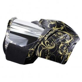 BOLLFO Kacamata Goggles Mask Motorcross Retro Anti Glare Windproof - DHL-2 - Army Green - 3