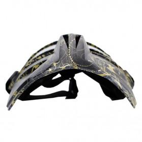 BOLLFO Kacamata Goggles Mask Motorcross Retro Anti Glare Windproof - DHL-2 - Army Green - 6