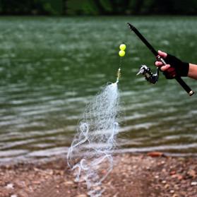 Kactzdz Jaring Pancing Umpan Ikan Fishing Net Trap Cage Tackle Size 4 - FN3C - 3