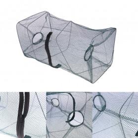 SANGEMAMA Jaring Pancing Ikan Udang Fishing Net Cage Foldable 60x27x27cm - SCZ6194