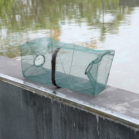 SANGEMAMA Jaring Pancing Ikan Udang Fishing Net Cage Foldable 60x27x27cm - SCZ6194 - 4