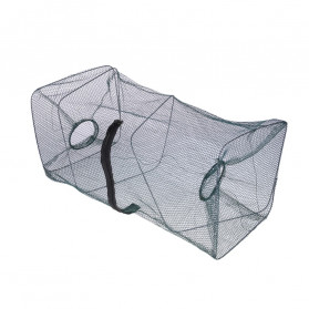 SANGEMAMA Jaring Pancing Ikan Udang Fishing Net Cage Foldable 60x27x27cm - SCZ6194 - 5