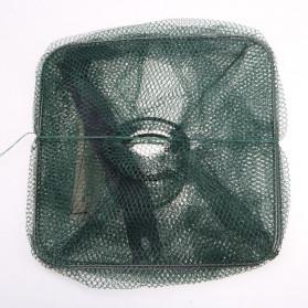 SANGEMAMA Jaring Pancing Ikan Udang Fishing Net Cage Foldable 60x27x27cm - SCZ6194 - 6