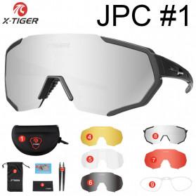 X-TIGER Kacamata Motor Motocross Ski Goggles Eye Protection Windproof - X-YJ-JPC - Silver