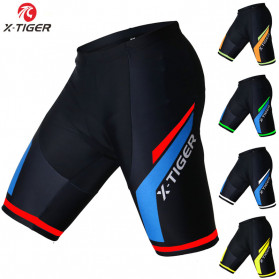 X-TIGER Celana Sepeda Cycling Short dengan 5D Breathable Pad Size XL - XM-DK-005 - Black Blue - 2