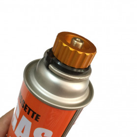 SPLIT Burner Head Tabung Gas Propane Camping Picnic Tool - GH3050 - Golden