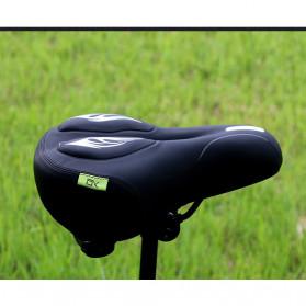 SHENGXIN Sadel Sepeda Comfortable Silicone Cushion - SX-731 - Black/Red - 5