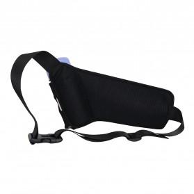 Junletu Tas Pinggang Olahraga Holder Botol Minum Sporty Waist Bag Woman - B-FF001 - Black - 2