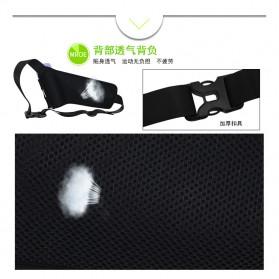 Junletu Tas Pinggang Olahraga Holder Botol Minum Sporty Waist Bag Woman - B-FF001 - Black - 8