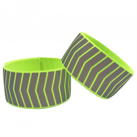 Mixxar Gelang Reflektif Safety Reflective Arm Wrist Band - 329R - Green