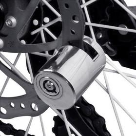 DEYIOU Gembok Sepeda Motor Moped Disc Brake Cakram - P1318 - Silver - 2