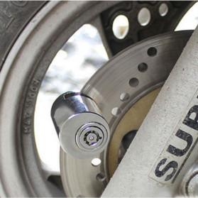 DEYIOU Gembok Sepeda Motor Moped Disc Brake Cakram - P1318 - Silver - 4