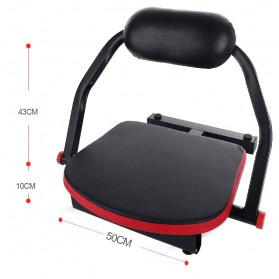 Chang Zhong Alat Fitnes Sit Up Assist Exercise Equipment - CM007 - Black - 7