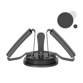 Heilsa Alat Fitness Sit Up Abdominal Machine Crunches Aid - HL40 - Black