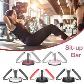 Heilsa Alat Fitness Sit Up Abdominal Machine Crunches Aid - HL40 - Black - 5