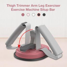 Heilsa Alat Fitness Sit Up Abdominal Machine Crunches Aid - HL40 - Black - 7