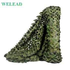 Welead Jaring Net Kamuflase Net Hidden Hunting Shooting Car Cover 3x5 Meter - Camouflage - 1