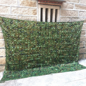 Welead Jaring Net Kamuflase Net Hidden Hunting Shooting Car Cover 3x5 Meter - Camouflage - 2