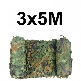 Welead Jaring Net Kamuflase Net Hidden Hunting Shooting Car Cover 3x5 Meter - Camouflage - 7