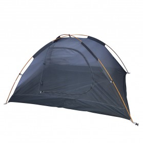 TaffSPORT Tenda Camping Backpacking Outdoor Tent Double Layer 2 Orang - S003-JY-L - Blue - 3
