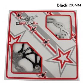 XKM Gigi Sprocket Sepeda Heat Dissipation Floating Rotor 160mm - 105B - Black - 3