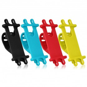 SHOOT Holder Smartphone Sepeda Bicycle Mount Universal Silicone - B04 - Multi-Color