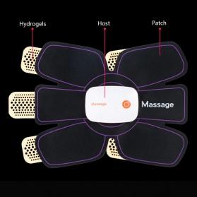 Medocflore Alat Stimulator Terapi EMS Otot Six Pack ABS Abdominal Muscle APP Control - MD16 - Black - 11
