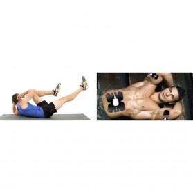 Medocflore Alat Stimulator Terapi EMS Otot Six Pack ABS Abdominal Muscle APP Control - MD16 - Black - 8