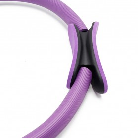 TONQUU Magic Ring Resistance Pilates Circle Yoga Fitness -TQMR023 - Black - 4