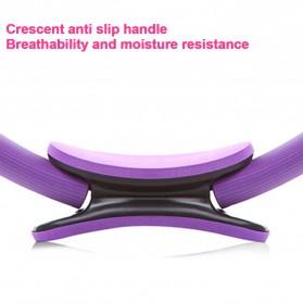 TONQUU Magic Ring Resistance Pilates Circle Yoga Fitness -TQMR023 - Black - 5