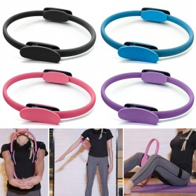 TONQUU Magic Ring Resistance Pilates Circle Yoga Fitness -TQMR023 - Black - 8