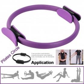 TONQUU Magic Ring Resistance Pilates Circle Yoga Fitness -TQMR023 - Black - 9