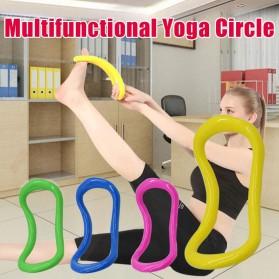 Yomee Magic Ring Resistance Pilates Circle Yoga Fitness -SDEFWE - Blue - 2