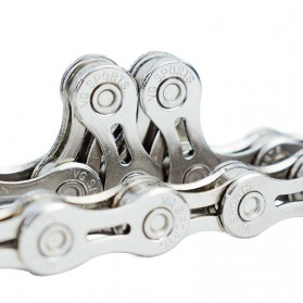 VG Sports Rantai Sepeda Bicycle Chain Half Hollow 10 Speed for Mountain Road Bike - Silver - 4