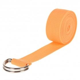 YOUSHITOP Tali Stretching Yoga Adjustable Belt Sport Stretch Strap D-Ring Belt Gym - E23 - Black - 4