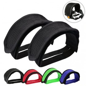 PROMEND Tali Pedal Sepeda Bicycle Pedal Toe Clip Foot Strap Cover - YQ097 - Black - 2