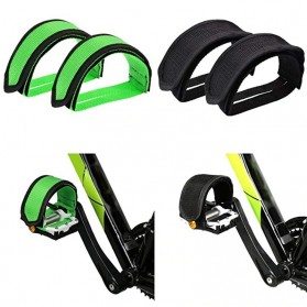 PROMEND Tali Pedal Sepeda Bicycle Pedal Toe Clip Foot Strap Cover - YQ097 - Black - 6