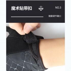 Running Sarung Tangan Sepeda Half Finger Glove Size M - AO549 - Black/Gray - 8