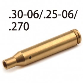 Souforce Peluru Red Dot Laser Boresight CAL Cartridge 270 - Golden