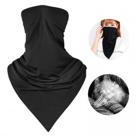 Laamei Slayer Masker Penutup Wajah Buff Outdoor Multi Purpose Scarf - F740 - Black